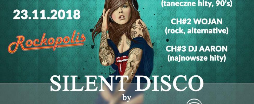 Silent Disco Rockopolis Piła 23.11.2018