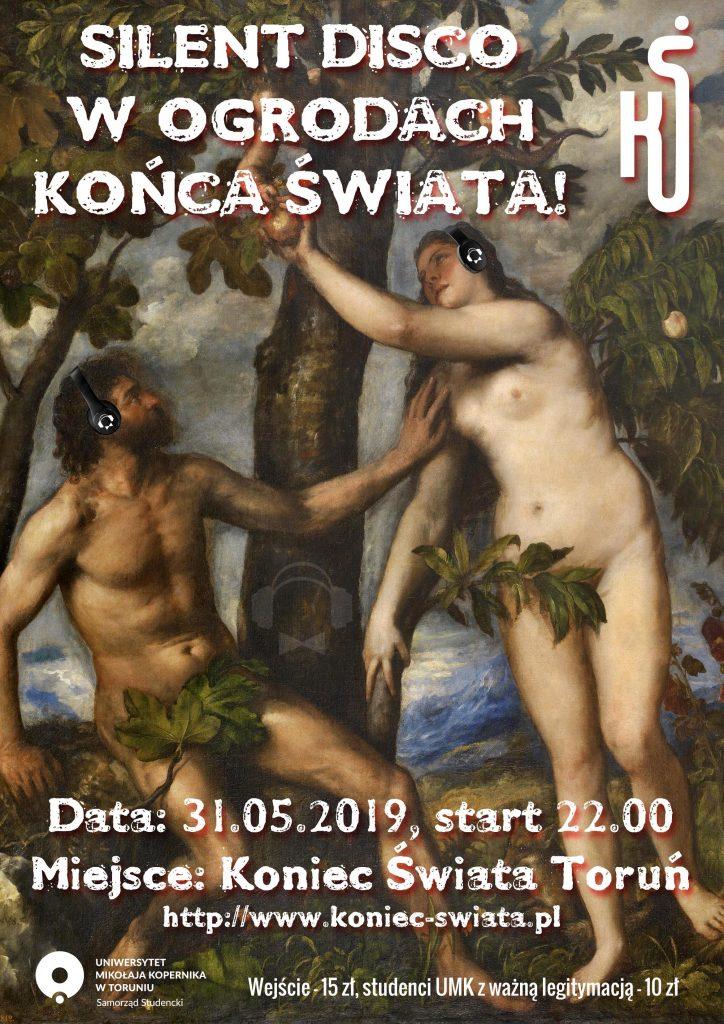 Silent Disco Toruń Koniec Świata 31.05.2019