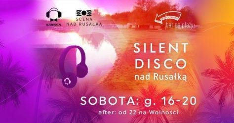 Silent Disco nad Rusałką Sobota Lato 2021