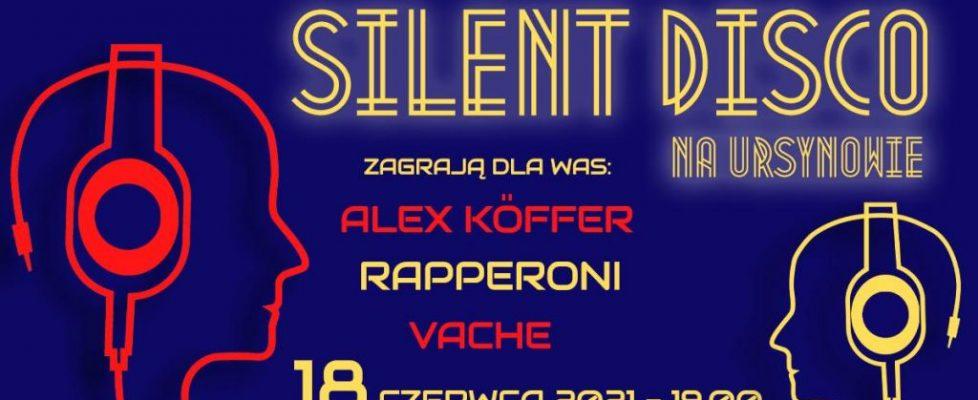 Silent Disco na Warszawskim Ursynowie 18.06.2021