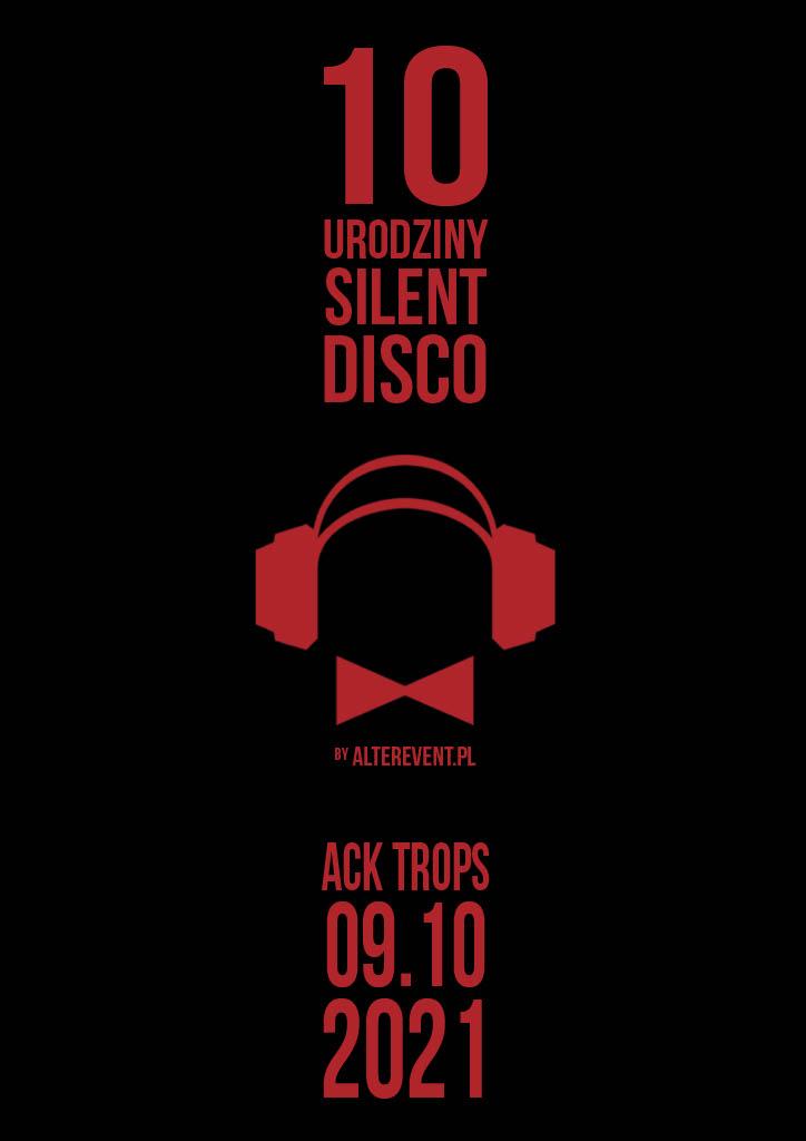 10 urodziny silent disco